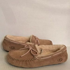 UGG DAKOTA Driving Moccasin SlippersTabacco
